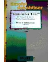 Picture of Sheet music  for trumpet (Bb/C) and piano. Sheet music for trumpet in Bb or C and piano by Piotr Tchaikovsky