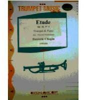 Picture of Sheet music  for trumpet (Bb/C) and piano. Sheet music for trumpet in Bb or C and piano by Frédéric Chopin