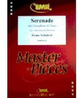 Picture of Sheet music for alto saxophone and piano by Franz Schubert