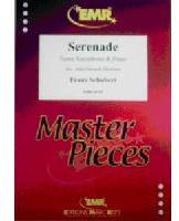 Picture of Sheet music for tenor saxophone and piano by Franz Schubert