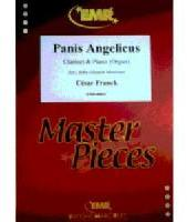 Picture of Sheet music for clarinet and piano or organ by César Franck