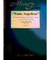 Picture of Sheet music for tenor saxophone and piano or organ by César Franck