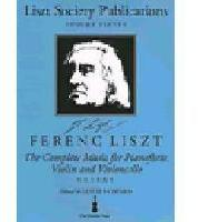 Picture of Sheet music for violin, cello and piano by Franz Liszt