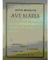 Picture of Sheet music for tenor trombone and piano or organ by Anton Bruckner