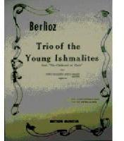 Picture of Sheet music for flute, clarinet and piano or harp by Hector Berlioz