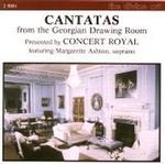 Picture of CD of vocal music, performed by the Concert Royal, with Margarette Ashton, soprano.