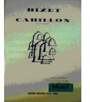 Picture of Sheet music for 2 clarinets and piano by Georges Bizet