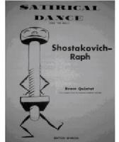 Picture of Sheet music for alto or baritone saxophone and piano by Dmitri Shostakovitch