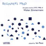 Picture of CD of works for piano by Walter Zimmermann performed by Ian Pace