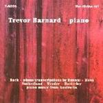 Picture of CD of piano music, performed by Trevor Barnard.