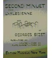Picture of Sheet music for flute, clarinet and piano by Georges Bizet