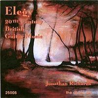 Picture of CD of guitar music, performed by Jonathan Richards.