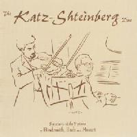 Picture of CD of music for viola and piano by Hindemith, Brahms and Mozart, performed by Shmuel Katz and Dmitri Shteinberg