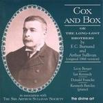 Picture of CD of vocal music by Arthur Sullivan. Soloists: Berger, Kennedy, Francke and Barclay.
