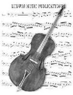 Picture of Sheet music  for double bass by Mildred Hill. Sheet music for solo bass