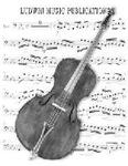 Picture of Sheet music  by Georges Bizet. Sheet music for doublebass quartet by Bizet