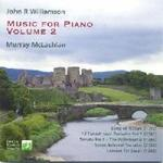 Picture of CD of music for piano, Volume 2, by John R.Williamson, performed by Murray McLachlan