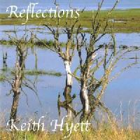Picture of CD of music for guitar solo, written and performed by Keith Hyett