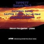 Picture of CD of contemporary piano music, performed by Steven Neugarten