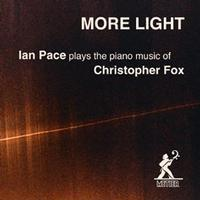 Picture of CD of contemporary piano music by Christopher Fox, performed by Ian Pace.