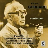 Picture of CD of chamber music by Roberto Gerhard, performed by the Cantamen Piano Trio