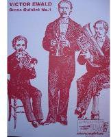 Picture of Sheet music  for 2 trumpets, french horn, trombone and tuba. Sheet music for brass quintet by Victor Ewald