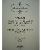 Picture of Sheet music for flute and piano by Jacques-Chrsitophe Naudot