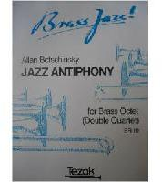 Picture of Sheet music for 4 trumpets and 4 tenor trombones by Allan Botschinsky