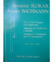 Picture of Tutor for tenor or bass trombone in English, French and German by Armin Bachmann and Branimir Slokar