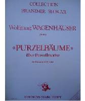 Picture of Sheet music for tenor trombone and piano by Wolfgang Wagenhäuser