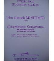 Picture of Sheet music for 2 tenor trombones and piano by John Mortimer