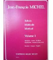 Picture of Tutor for french horn, trumpet, tenor trombone or euphonium in English, French and German by Jean-François Michel