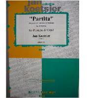 Picture of Sheet music for tenor trombone and organ by Jan Koetsier
