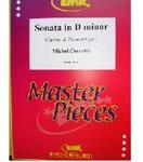 Picture of Sheet music for clarinet and piano or organ by Michel Corrette