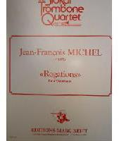 Picture of Sheet music for 4 tenor trombones by Jean-François Michel