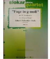 Picture of Sheet music for 4 tenor trombones by Johann Sebastian Bach