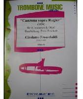 Picture of Sheet music for 4 tenor trombones and piano or organ by Girolamo Frescobaldi