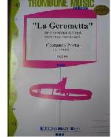 Picture of Sheet music for 4 tenor trombones and piano or organ by Costanzo Porta