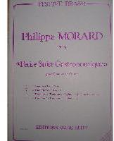 Picture of Sheet music  for 2 trumpets or cornets; french horn (Eb/F), baritone or trombone (tc); baritone, trombone (bc/tc) or euphonium. Sheet music for brass quartet by Philippe Morard