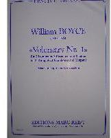 Picture of Sheet music for 3 trumpets, 3 tenor trombones and timpani by William Boyce