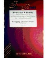 Picture of Sheet music  for 2 trumpets, french horn, trombone and tuba. Sheet music for brass quintet by Wolfgang Amadeus Mozart