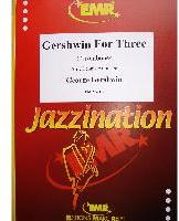Picture of Sheet music for 3 tenor trombones by George Gershwin