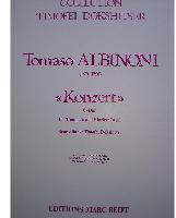 Picture of Sheet music for trumpet and piano or organ by Tomaso Albinoni