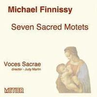 Picture of CD of unaccompanied choral music by Michael Finnissy, performed by Voces Sacrae, directed by Judy Martin.