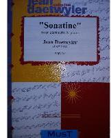 Picture of Sheet music for clarinet and piano by Jean Daetwyler