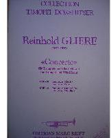 Picture of Sheet music for trumpet and piano by Reinhold Glière