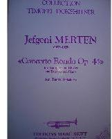 Picture of Sheet music for trumpet and piano by Jefgeni Merten