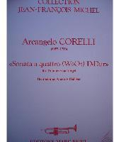 Picture of Sheet music for trumpet and organ by Arcangelo Corelli