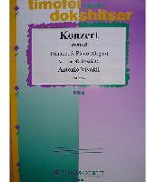Picture of Sheet music for trumpet and piano or organ by Antonio Vivaldi