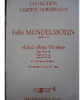 Picture of Sheet music for trumpet and piano by Felix Mendelssohn